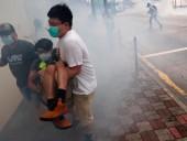 В Гонконге продолжаются протесты: полиция применила слезоточивый газ