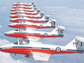 В Канаде разбился военный самолет