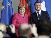 Меркель и Макрона продвигают план восстановления экономики ЕС на 750 млрд евро