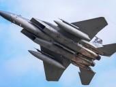 Истребитель ВВС США потерпел крушение у побережья Великобритании, пилот пропал без вести