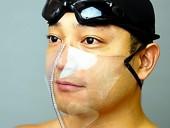 В Японии придумали маски для бассейна, защищающие от коронавируса