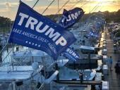 Ко дню рождения Трампа в США устроили масштабный парад на воде
