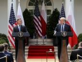 Совместное заявление Трампа и Дуды: перевод военных США из ФРГ в Польшу является сигналом для России