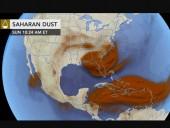 На США надвигается мощная пылевая буря из Африки