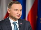 Среди польских избирателей в Украине первое место занял Дуда - СМИ