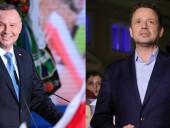 Дуда и Тшасковский прошли во второй тур президентских выборов в Польше