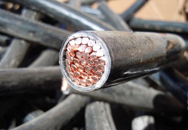 Дорого сдать лом медного кабеля