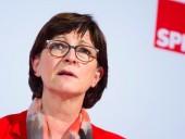 Сопредседателю партии социал-демократов Германии угрожали убийством