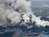 Пожар на военном корабле в США: более 20 пострадавших
