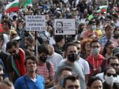 Антиправительственные протесты в Болгарии переросли в столкновения с полицией