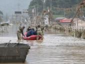 Наводнения в Японии: как-минимум 66 погибших, более 12 тысяч зданий повреждены