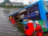В КНР автобус с абитуриентами