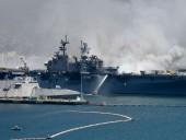 В США потушили пожар на десантном корабле, продолжавшийся 4 дня: пострадали 63 человека