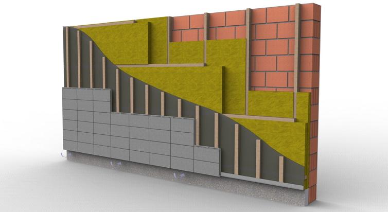 Подсистемы для вентилируемого фасада