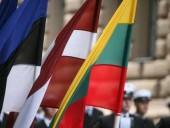 Литва, Латвия и Эстония призвали провести новые выборы в Беларуси