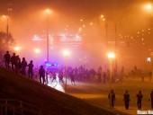 Как разгоняли протесты после выборов в Беларуси: хронология и фото ночных событий