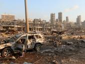 Взрыв в Бейруте оставил 300 тыс. людей без крова, ущерб оценивают в 3-5 млрд долларов