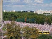 В Беларуси проходит оппозиционный марш свободы: выдвинуты требования