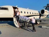 Самолет с российским оппозиционером Навальным прибыл в Германию