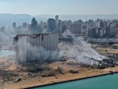 Ливан нуждается в международной помощи для восстановления Бейрута после взрыва
