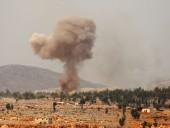 Российские бомбардировщики нанесли ряд ударов по повстанцам в Сирии
