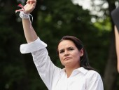 Тихановская записала видеообращение в поддержку участников