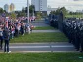 В МВД Беларуси отрицают использование гранат во время протестов в Минске