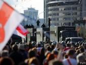 МВД Беларуси: в Минске на протестах задержали более 400 человек