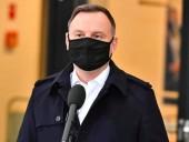 У президента Польши Дуды подтвердили коронавирус