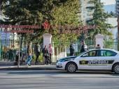 В Грузии вооруженные люди захватили заложников в городе Зугдиди, полиция оцепила район