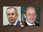 Главы МИД России и Франции обсудили ситуацию в Карабахе и дело Навального
