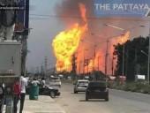 В Таиланде взорвался газопровод, есть погибшие и раненые