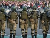 Марш гордости в Беларуси: в Минск стянули десятки единиц военной техники