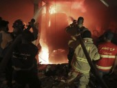 В Бейруте снова произошел мощный взрыв, есть погибшие и пострадавшие
