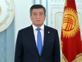 В Кыргызстане заявили, что ЕС признает легитимным президента Жээнбекова