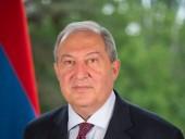 Президент Армении назвал условие признания независимости Карабаха