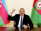 Президент Азербайджана заявил, что Армения имеет