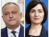 В Молдове обработали 95% бюллетеней на выборах президента: Санду побеждает