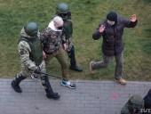 Протесты в Беларуси: количество задержанных превысило полтысячи, есть пострадавшие