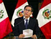 Президента Перу отстранили от власти
