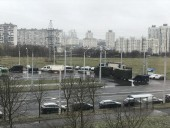 Протесты в Беларуси: силовики в центре Минска сооружают ограждение, стягивают спецтехнику и водометы