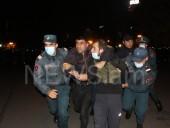 Предатель, уходи: в Ереване митингуют против Пашиняна, есть задержанные