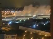 В коронавирусной больнице в Москве произошел взрыв