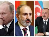 Путин поговорил с Пашиняном и Алиевым о Нагорном Карабахе