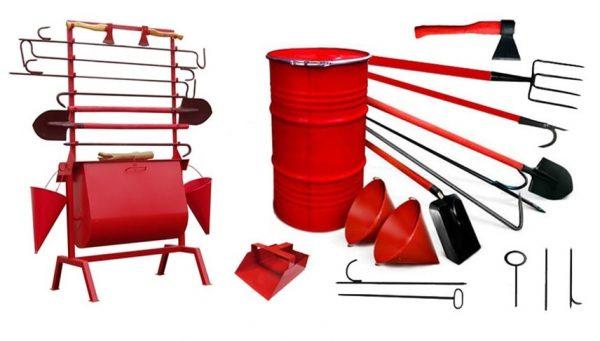 Широкий выбор пожарного инвентаря и оборудования