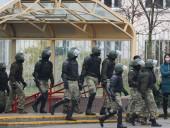 Протесты в Беларуси: силовики в Минске применили спецсредства