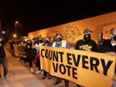 В США на фоне подсчета голосов протестуют сторонники кандидатов президенты