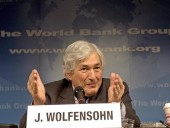 Умер бывший президент Всемирного банка Вульфенсон