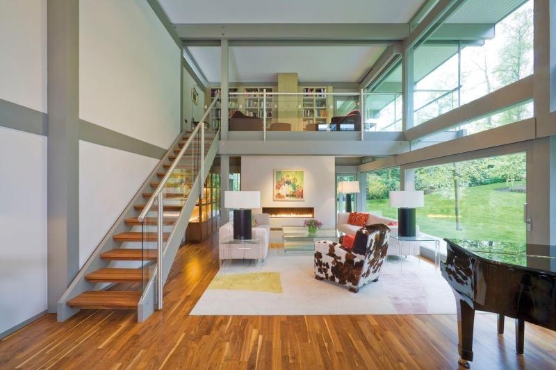 Раскладные лестницы для частного дома