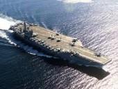 Иранские ракеты упали в океане недалеко от ударной группы ВМС США и торгового судна